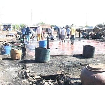 Phú Tân: Cháy nhà dân thiệt hại gần 500 triệu đồng