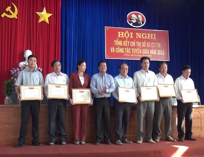 Huyện U Minh triển khai thực hiện Chỉ thị số 03 năm 2014