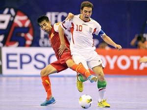 VCK Futsal châu Á: Đội Việt Nam dừng chân ở tứ kết