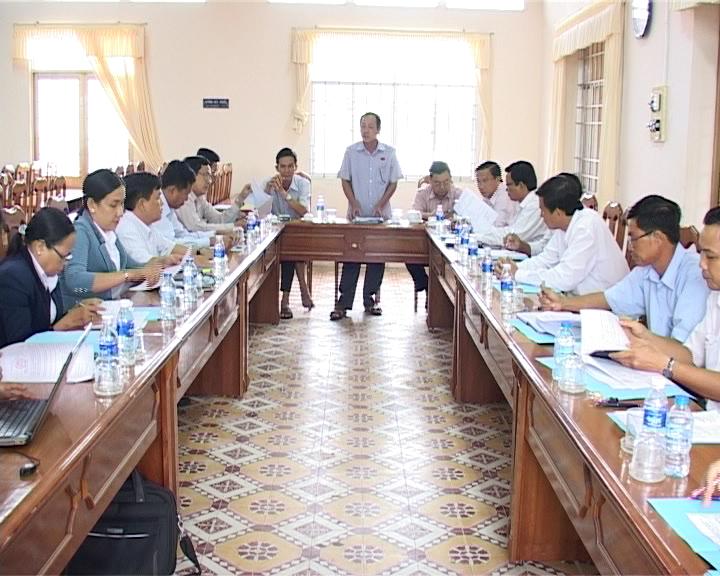 Ban Kinh tế - Ngân sách HĐND tỉnh giám sát tại huyện Cái Nước