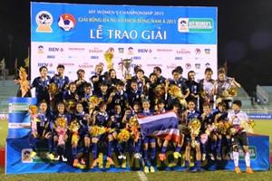 ĐT nữ Thái Lan vô địch Đông Nam Á