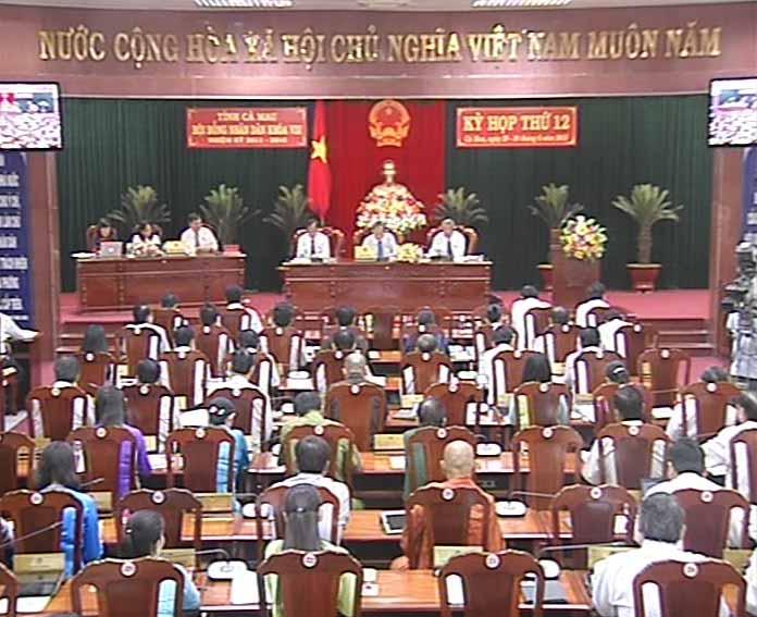 Ngày làm việc thứ 2 kỳ họp lần thứ 12 HĐND tỉnh khóa VIII
