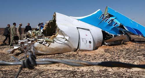 Ai Cập bắt 2 nghi can cài bom làm nổ máy bay Nga