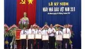 Truong Chinh tri ky niem ngay 20-11-2015