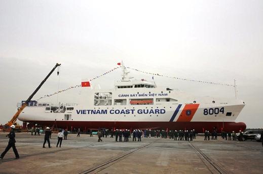 Hoàn thành đóng mới 7 tàu Cảnh sát biển hiện đại