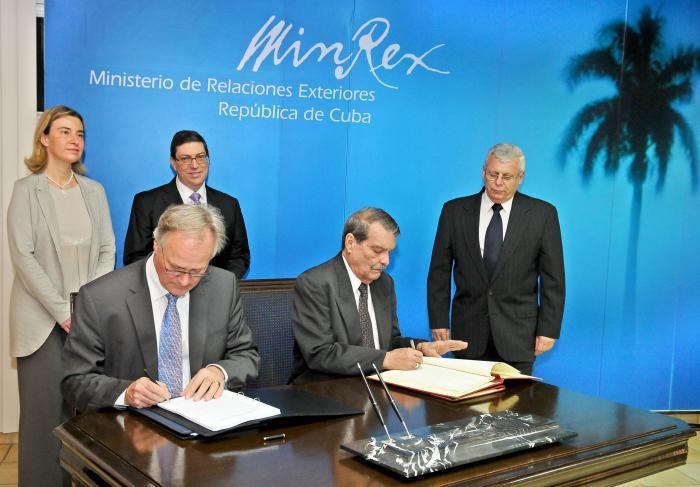 Cuba, EU ký thỏa thuận bình thường hóa quan hệ