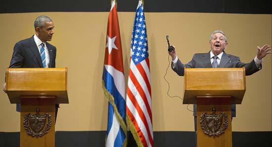 Lãnh đạo Cuba-Mỹ 'đối đáp' về nhân quyền
