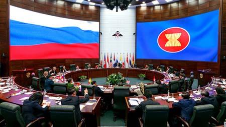 Nga-ASEAN đề ra phương hướng hợp tác quốc phòng