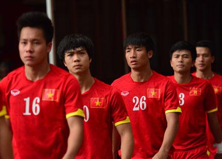 Đội tuyển U23 đón khách quý khai xuân