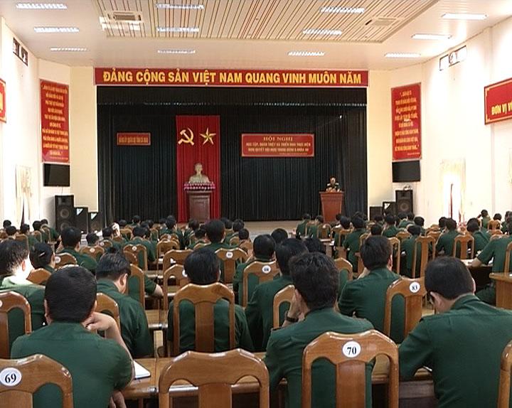 Đảng ủy Quân sự tỉnh Cà Mau triển khai Nghị quyết Trung ương 5