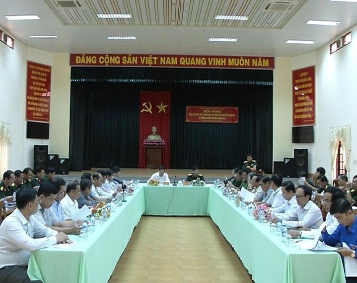 Năm 2017 tỉnh Cà Mau giao quân đạt 100%