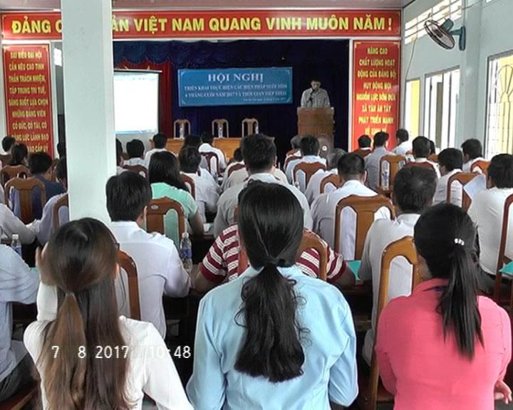 Triển khai các biện pháp nuôi tôm tại huyện Ngọc Hiển