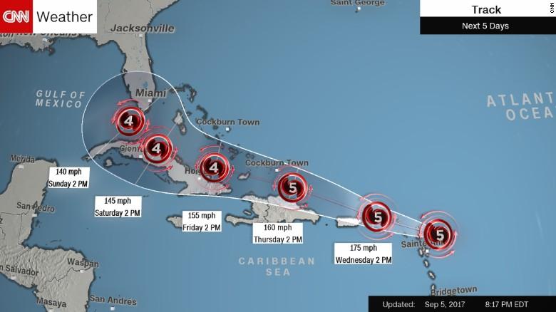 Mỹ: Siêu bão nối siêu bão