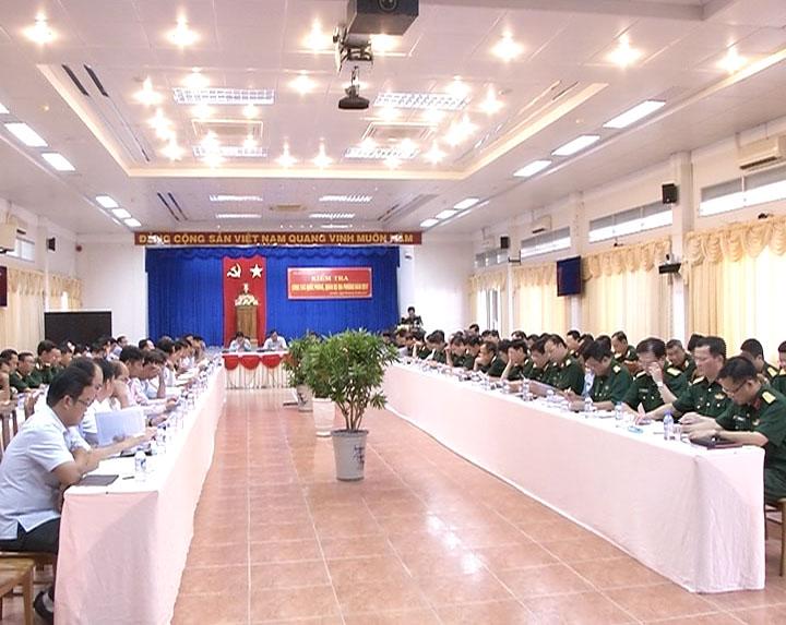 Bộ Quốc phòng làm việc với UBND tỉnh Cà Mau về công tác Quốc phòng - Quân sự địa phương