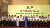 Trao hoc bong Dam CM 19-10-2017