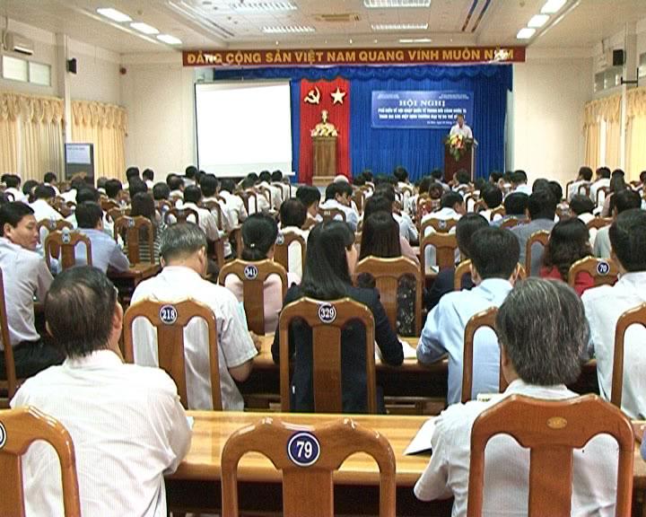 Hội nghị phổ biến về hội nhập quốc tế