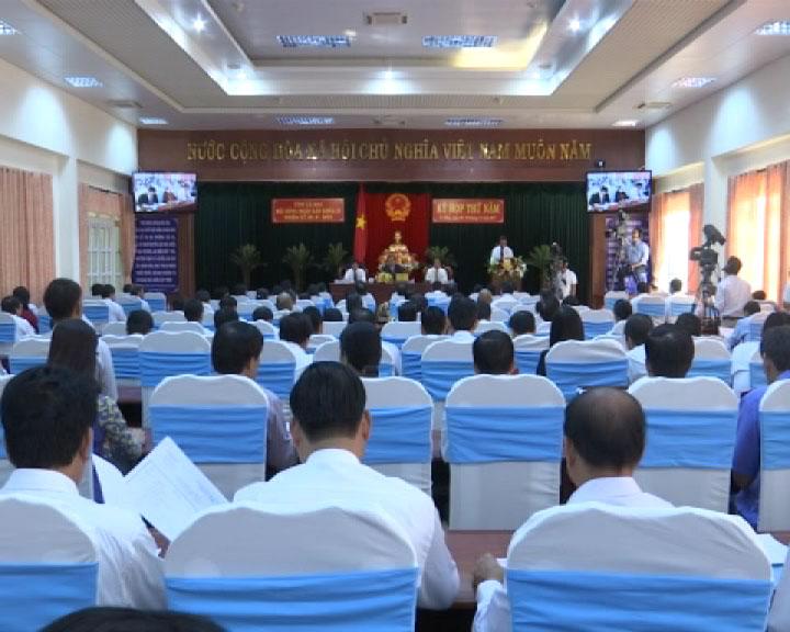 Khai mạc kỳ họp thứ Năm, HĐND tỉnh Cà Mau khóa IX