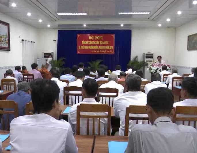 Ban Dân tộc tỉnh Cà Mau tổng kết công tác dân tộc năm 2017