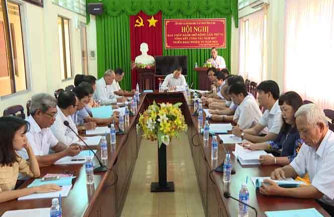 Liên hiệp các Hội Khoa học và Kỹ thuật tỉnh Cà Mau là đơn vị hoạt động mạnh