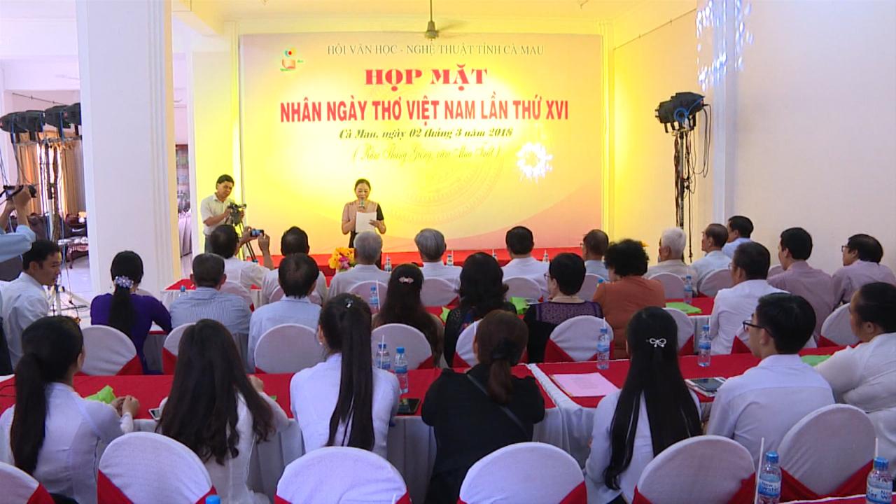 Họp mặt kỷ niệm Ngày thơ Việt Nam 2018