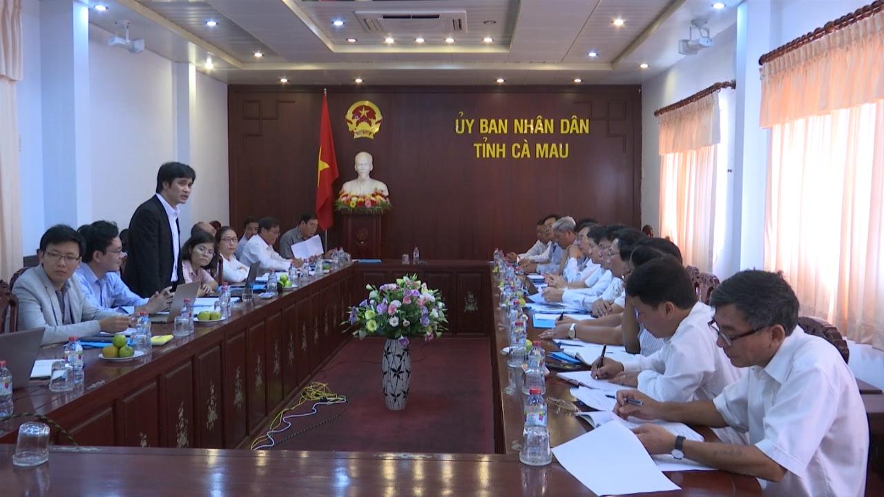 UBND tỉnh Cà Mau làm việc với Viện Chính sách và Chiến lược phát triển nông nghiệp nông thôn