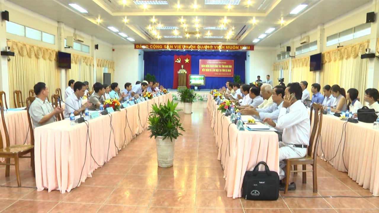 Thắt chặt tình đoàn kết 2 tỉnh Ninh Bình - Cà Mau