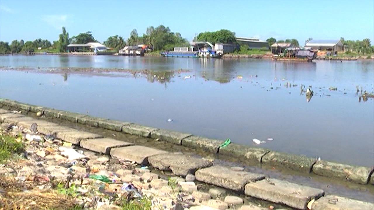Giải quyết tình trạng ô nhiễm trên tuyến sông nội ô thành phố Cà Mau