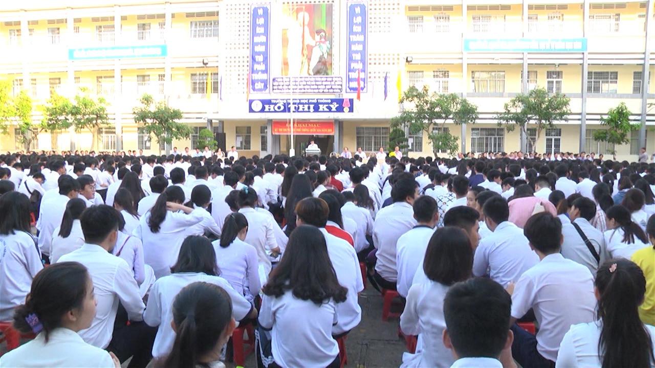 Khai mạc kỳ thi Trung học phổ thông Quốc gia năm 2018