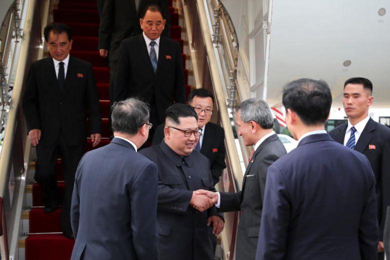 Lãnh đạo Triều Tiên đến Singapore