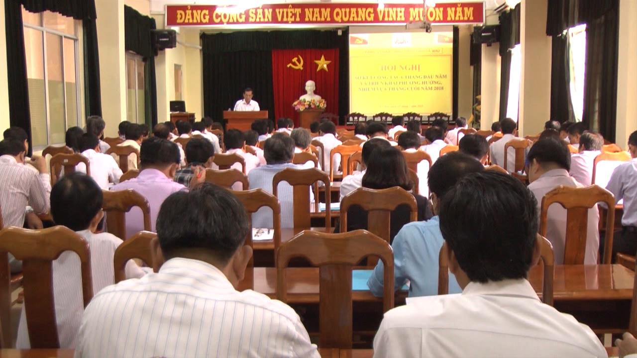 Đảng uỷ Dân Chính Đảng tỉnh Cà Mau sơ kết công tác 6 tháng năm 2018