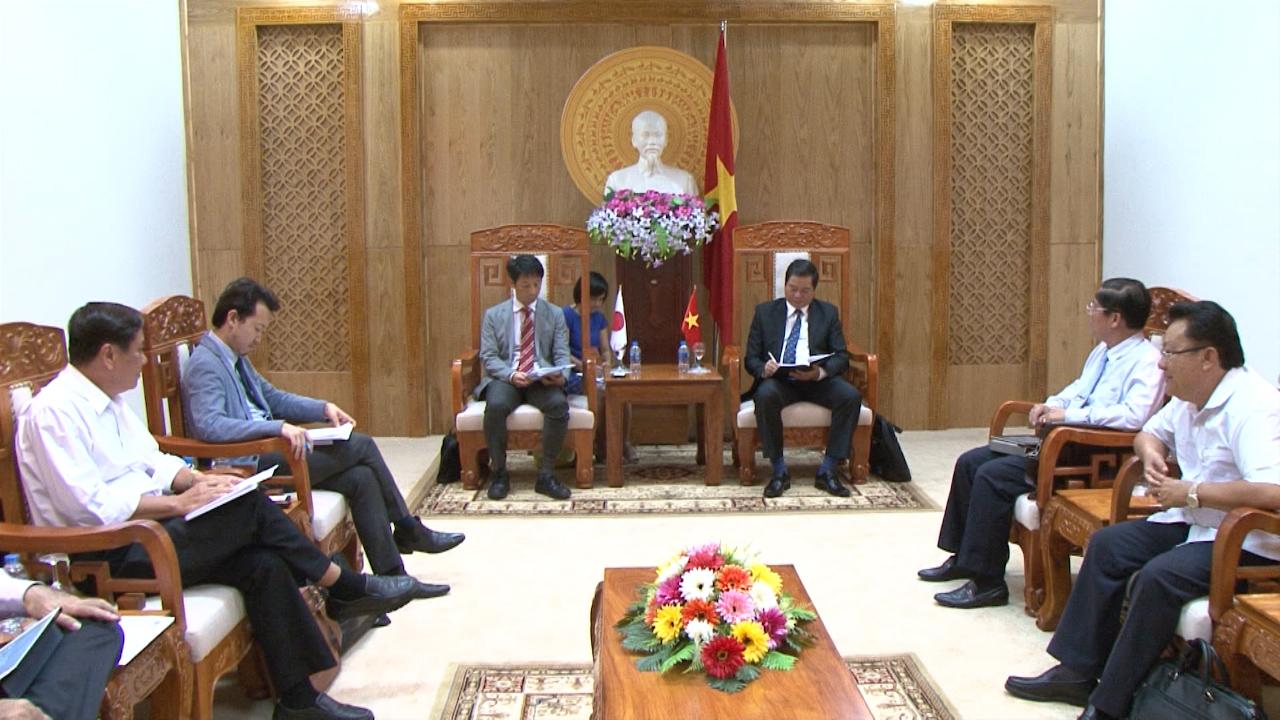 UBND tỉnh Cà Mau tiếp và làm việc với đại diện Văn phòng JICA tại Việt Nam