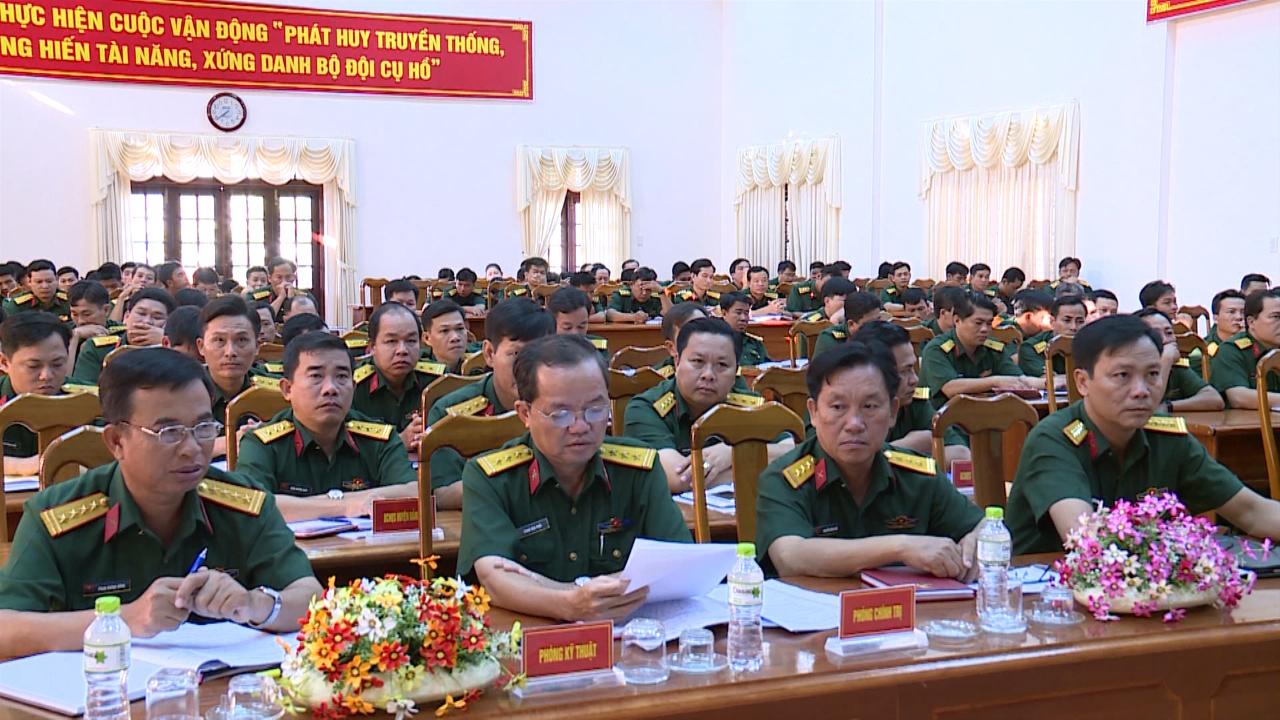 Bộ Chỉ huy Quân sự tỉnh Cà Mau tọa đàm sĩ quan trẻ năm 2018