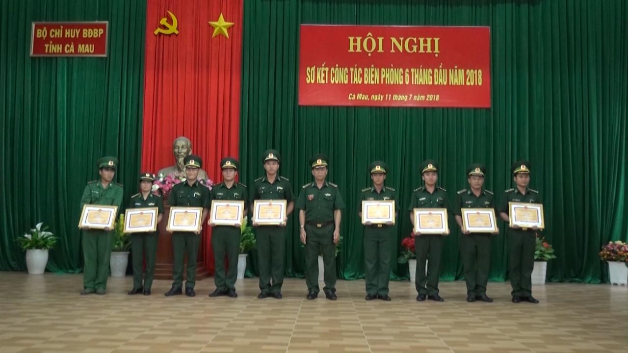 Bộ đội Biên phòng tỉnh Cà Mau triển khai nhiệm vụ 6 tháng cuối năm 2018