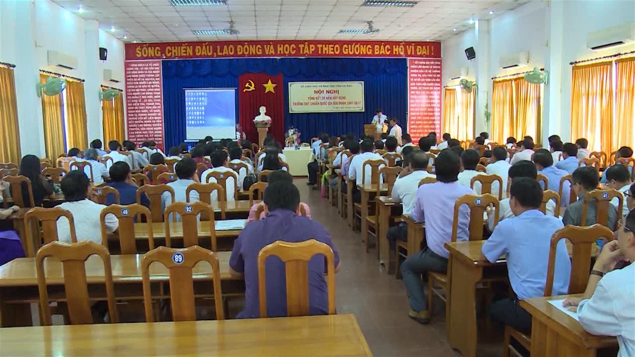Giai đoạn 1997 - 2017: Cà Mau có 260 trường đạt chuẩn quốc gia