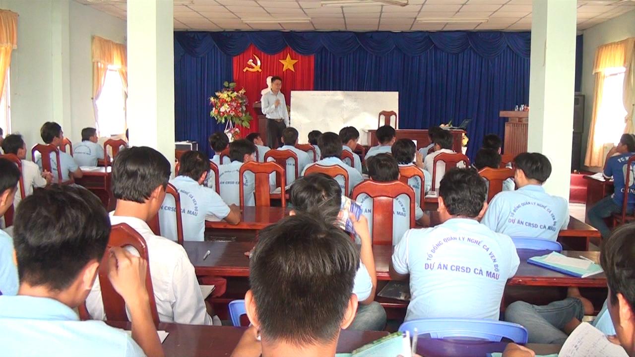 U Minh: đào tạo thuyền trưởng hạng V miễn phí cho ngư dân