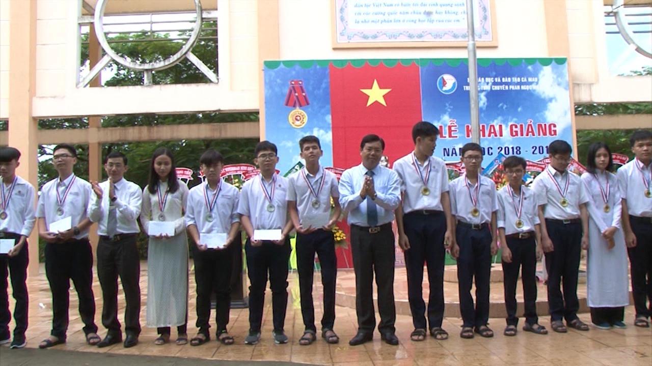 Gần 252.000 học sinh Cà Mau nô nức bước vào năm học mới