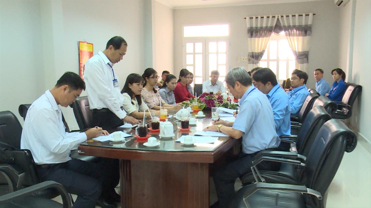 Kiểm tra công tác cải cách hành chính tại Sở Công Thương