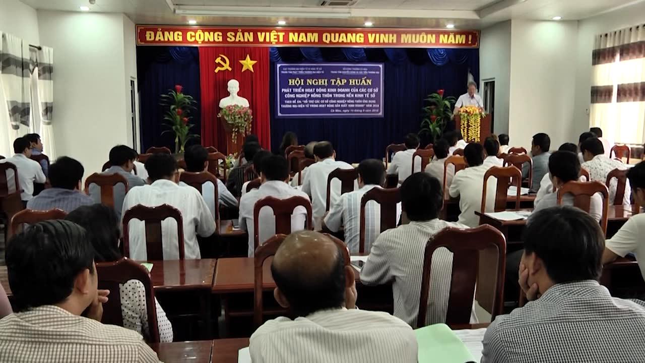 Hội nghị tập huấn thương mại điện tử