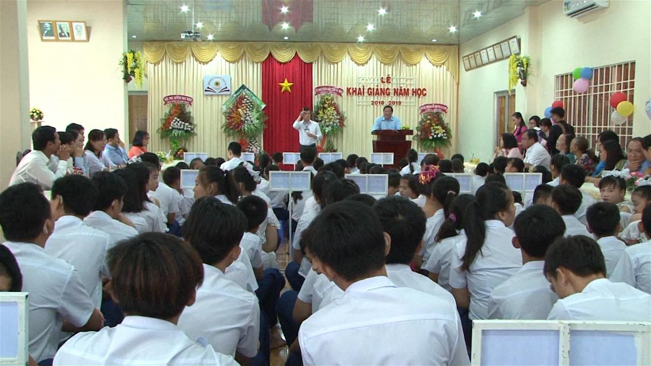 Trường Nuôi dạy trẻ khuyết tật Cà Mau khai giảng năm học mới