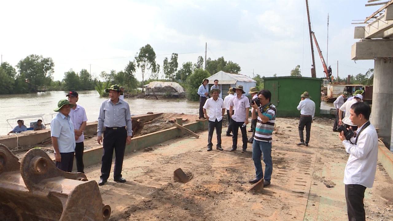 Khảo sát một số công trình tại huyện Đầm Dơi