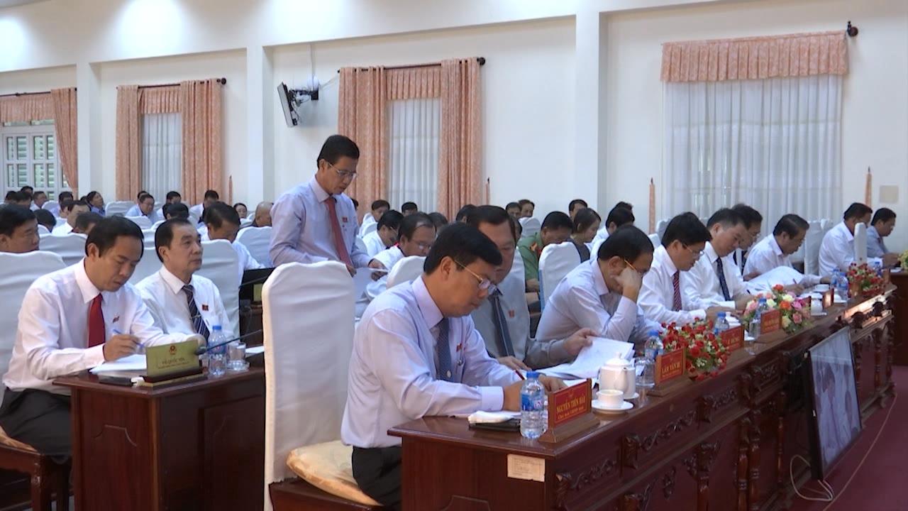 Kỳ họp thứ Bảy, HĐND tỉnh Cà Mau khóa IX bước sang ngày làm việc thứ hai