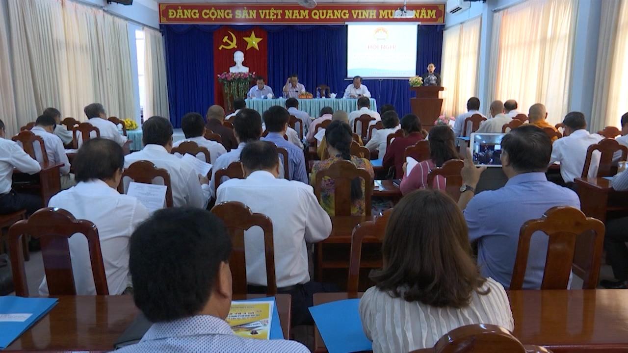 Hội nghị Uỷ ban Mặt trận Tổ quốc Việt Nam tỉnh Cà Mau lần thứ 11