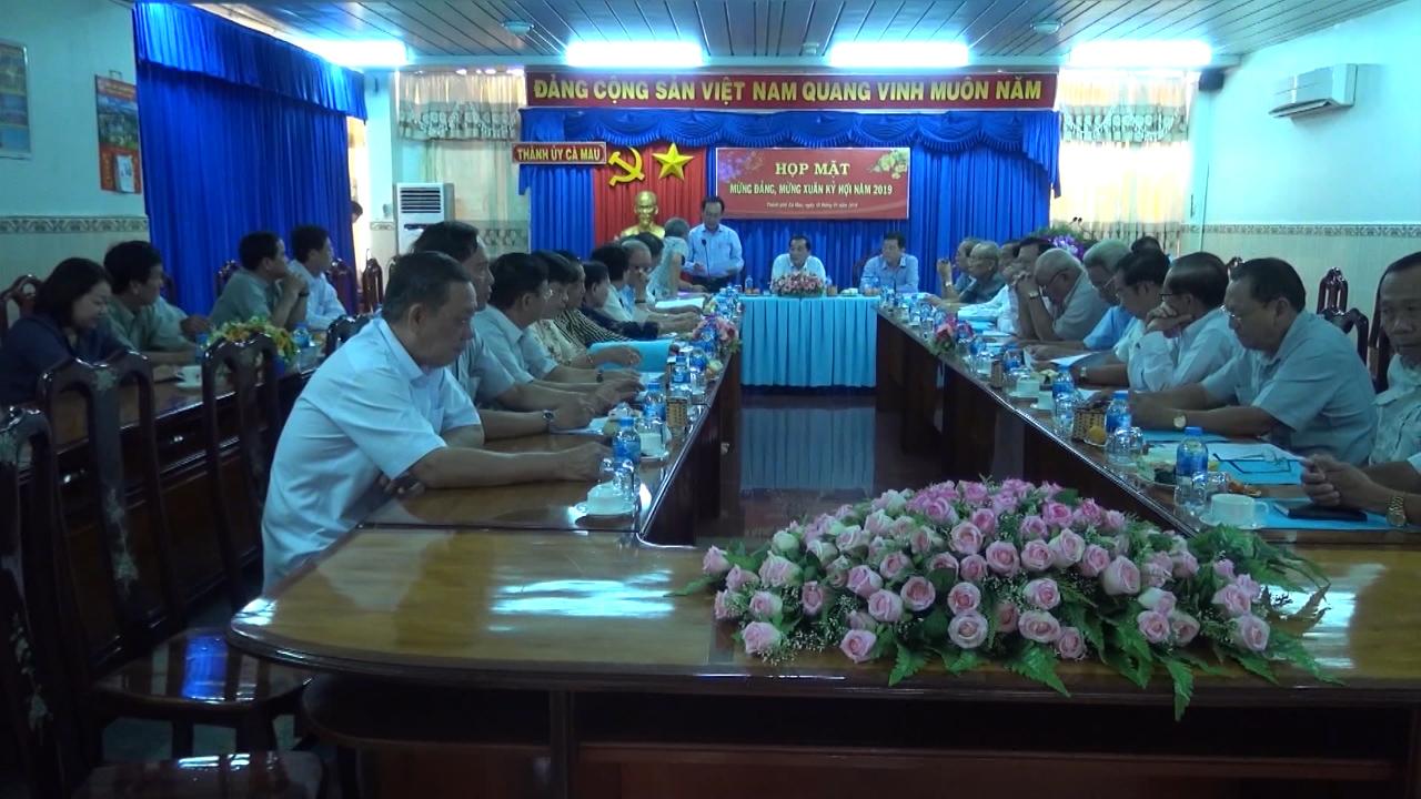 Thành phố Cà Mau họp mặt cán bộ hưu trí mừng xuân Kỷ Hợi 2019