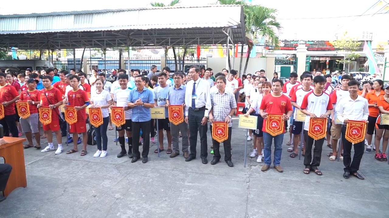 Hội thao kỷ niệm 64 năm Ngày thầy thuốc Việt Nam