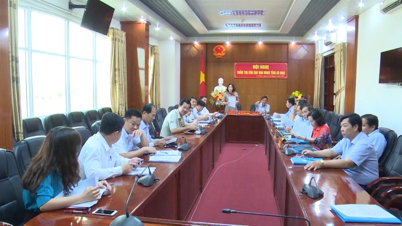 Ban Kinh tế - Ngân sách HĐND tỉnh Cà Mau thẩm tra các văn bản