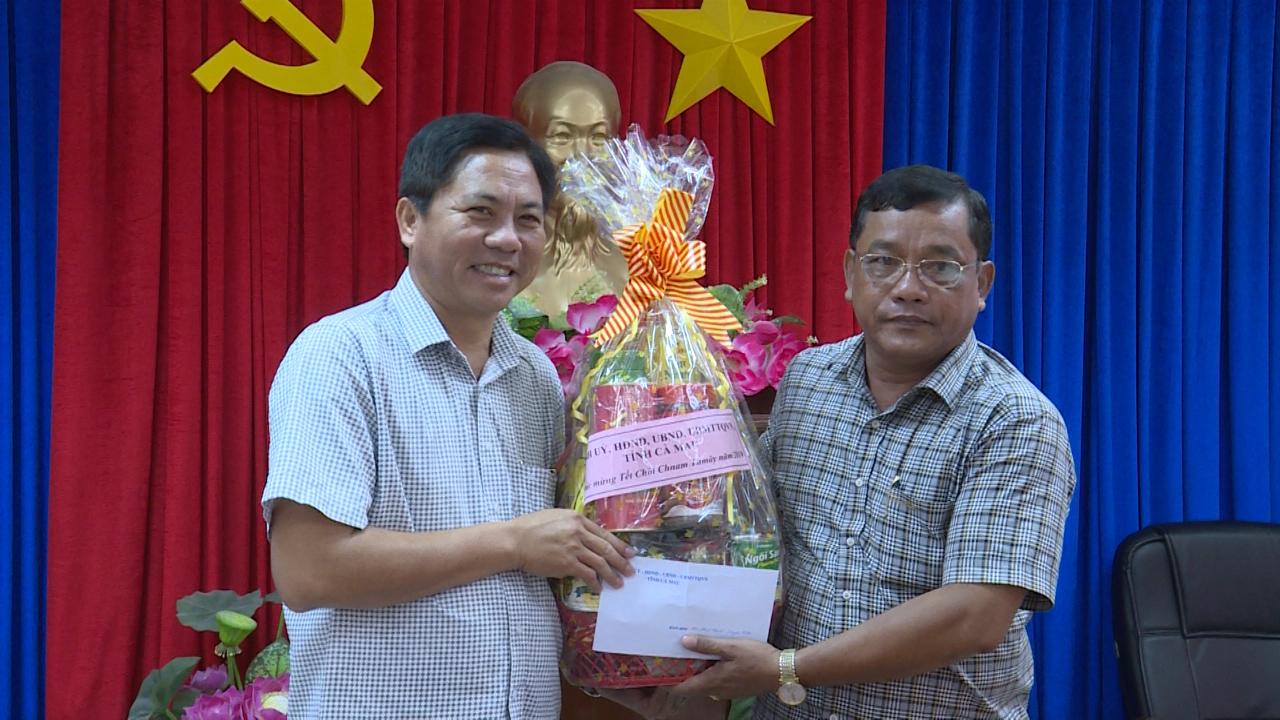 Chúc Tết Chol Chnam Thmay tại Đài PT-TH Cà Mau