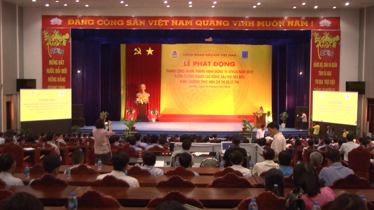 Công đoàn Dầu khí Việt Nam phát động Tháng công nhân