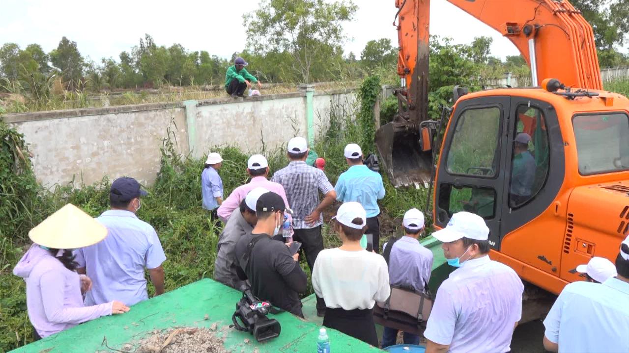 Kiểm tra thông tin phát hiện xác thai nhi tại Nhà máy xử lý rác thải thành phố Cà Mau