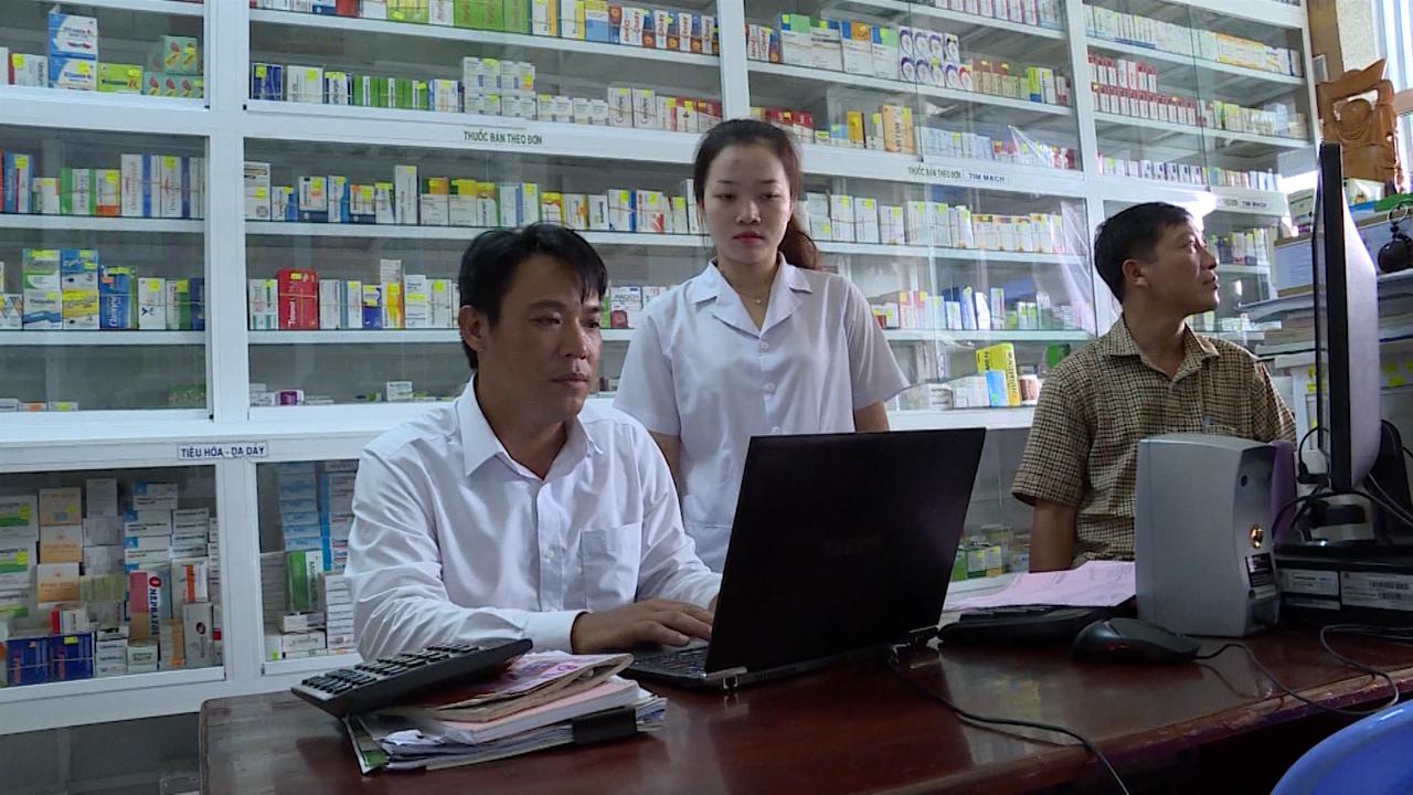 Ứng dụng công nghệ thông tin trong quản lý dược