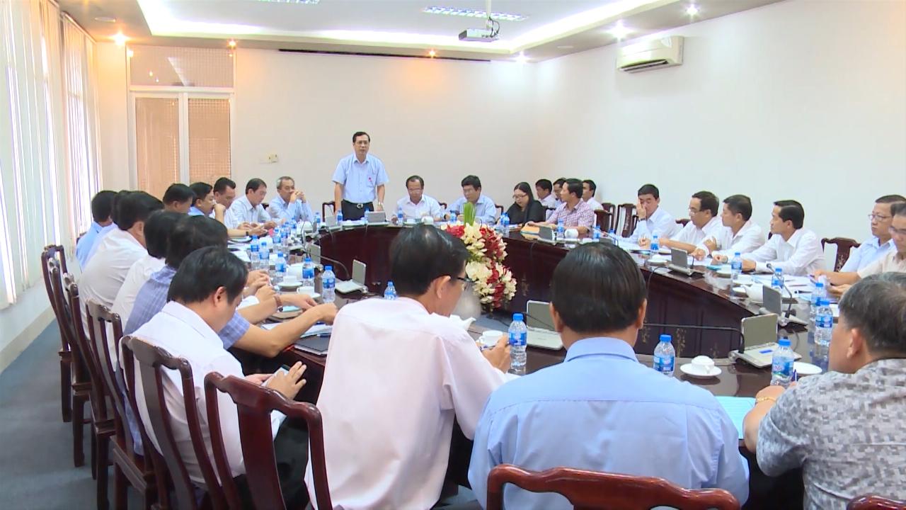Họp Ban chỉ đạo kỳ thi THPT quốc gia tỉnh Cà Mau năm 2019